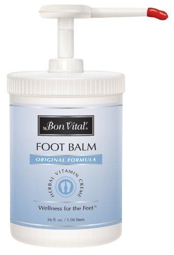 Bon Vital Original Foot Balm, 36 oz. Europump (Urea Crystals compare prices)