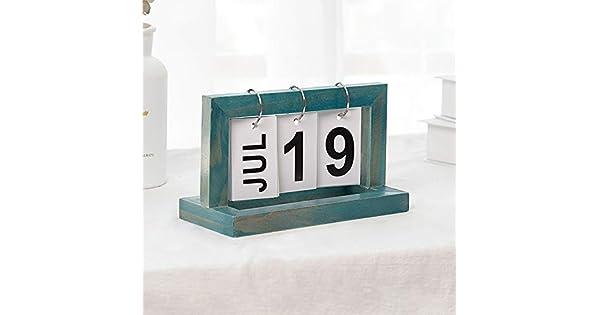 Amazon.com: Calendario de estilo vintage para manualidades ...