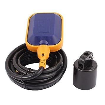 DealMux STUKK-2 4M interruptor de flotador Sensor Controller Líquido Líquido Agua Nivel: Amazon.es: Electrónica