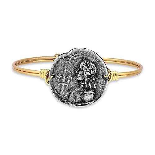 Luca + Danni Joan of Arc Bangle Bracelet - Petite/Brass Tone