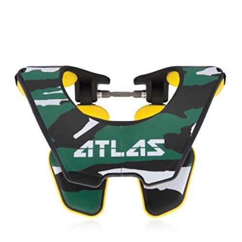 Atlas Tyke Brace Youth Kid Neck Brace Cadet Yellow Motocross MX Protection by Atlas