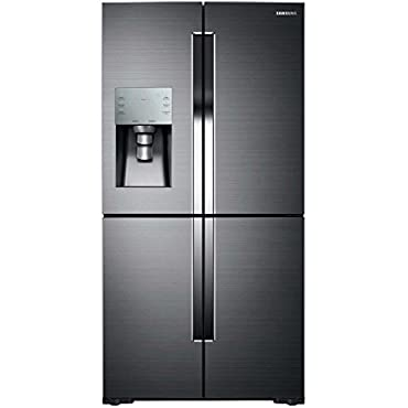 Samsung RF28K9380SG Black Stainless Steel 36 Door-in-Door French Door Refrigerator with 27.8 cu. ft. Capacity (Black Stainless Steel)