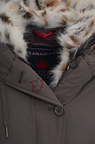 termica Giacca Canadian Scuro FFBLACK NEW Marrone Donna SONORA UOqa7O