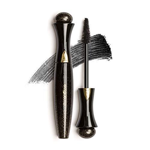 (Mirenesse Secret Weapon 24Hr Mascara -Supreme WINNER BEST MASCARA - Dramatic Volume, Thickening & Lengthening, Tubing Formula, Easy Removal - For Sensitive Eyes - 10g/0.35oz - Black -)