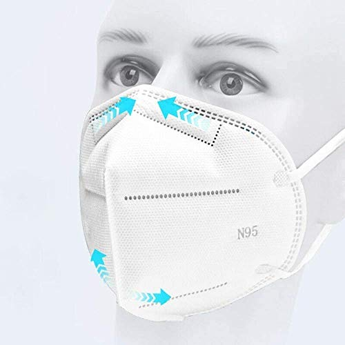 Srxes Reusable 5 Layer Filter N95 Respirator Mask For Chemicals, Anti Air Pollution Face Mask Respirator, Medical Masks For Face Pack Of 1 Price & Reviews