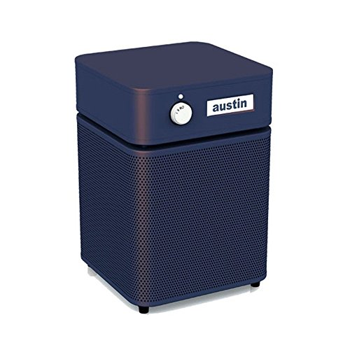 Hega Air Cleaner (Austin Air A205E1 Junior Allergy/HEGA Unit Junior Allergy Machine Air Purifier, Midnight Blue)