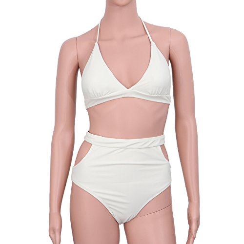 - OULII Women Tankini Swimsuit Summer Bikini High Waist Bathing Suit Size XL