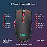 RedThunder Gaming Mouse Wired, 7 Programmable
