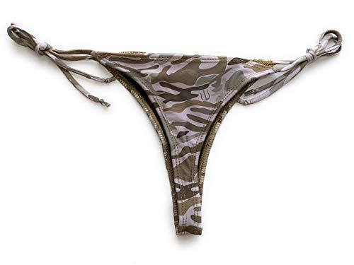 Sunga Life Lycra String Bikini Bottoms (Desert Camo, Small) ()