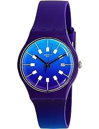 Men's Crazy Sky SUOV400 Purple Rubber Swiss Quartz Fashion Watch
