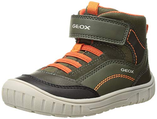 Geox Omar Boy 6 Sport Boot Ankle, Forest, 25 Medium EU Toddler (8.5 US) (Geox Boots For Boys)
