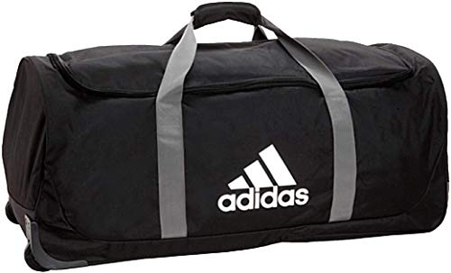 adidas Unisex Team XL Wheel Bag, Black, ONE SIZE