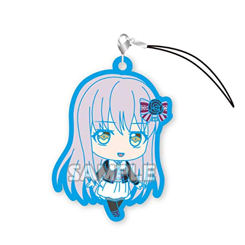 Bang Dream! Roselia Yukina Minato Character Gacha Capsule Rubber Mascot Strap Collection Vol.2 Anime Girls Art ()