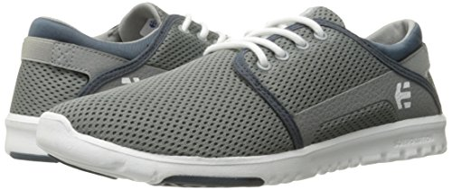 Etnies Scout, Color: Grey/White/Green, Size: 45 EU (11 US / 10 UK)
