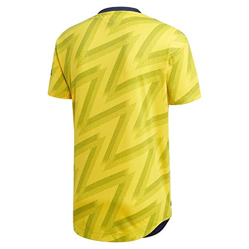 Arsenal Away 2019 2020 Soccer Jersey Color Yellow Size S