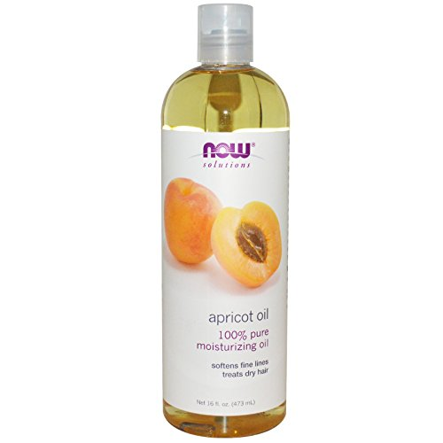 (Now Foods Solutions Apricot Kernel Oil Pure Moisturizing Oil 16 fl oz 473)
