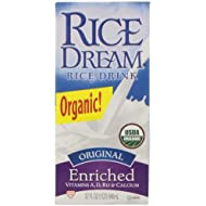 Rice Dream Organic Rice Drink, Original, 32 Ounce (Pack of 12)