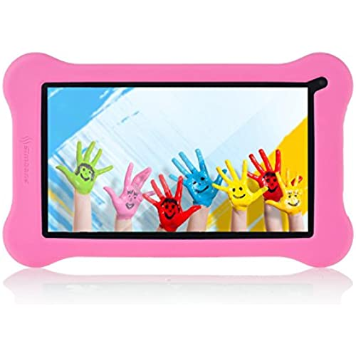 Simbans Funlet Pink 7 Inch Tablet for Kids Bundle - IPS screen, HDMI, 1GB RAM, 8GB disk, WiFi, Android 5.1 Lollipop, Quad Core, Dual 2M Cameras Coupons