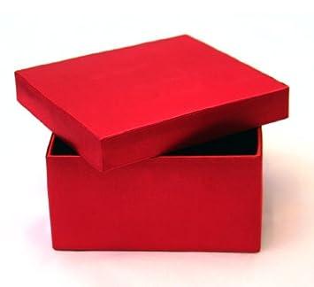 Extra Large Luxury Satin Keepsake Classy Gift Box in Dark Red ...