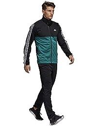 Men Track Suit Back 2 Basics Running 3-Stripes Gym Training CY2303