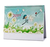 Beautiful Scenery 2019 Calendar Office/School/Home Supplies,A04