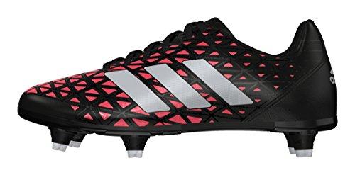 adidas Jungen Kakari SG J Fußballschuhe Black (Negbas / PLAMET / Rojimp)