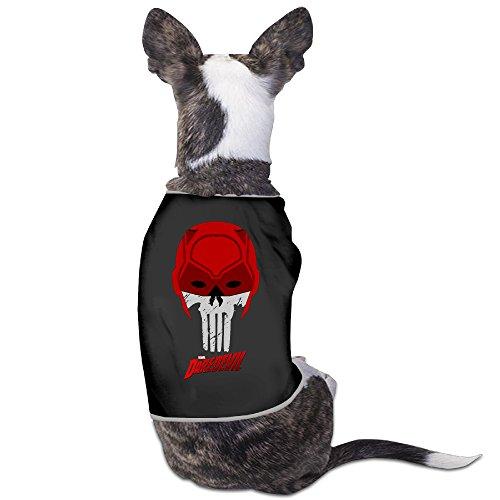 [Marvel's Daredevil Mask Dog Costume Puppy Jackets] (Daredevil Black Costumes)