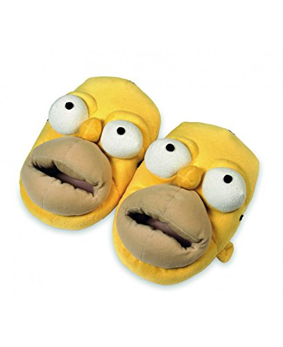 The Simpsons Homer Simpson Zapatillas Tamaño L = 41 42 43 44