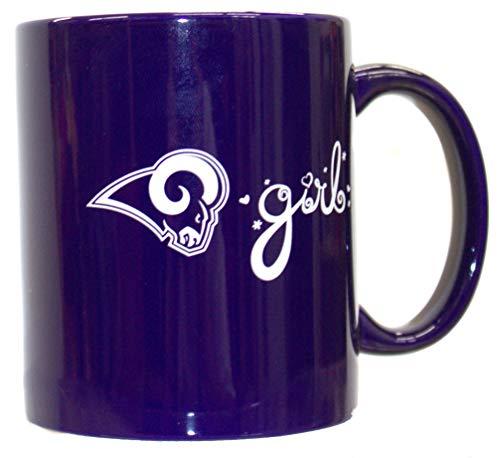 (bbsports Los Angeles Rams Team Color Rams Girl 12oz Mug)