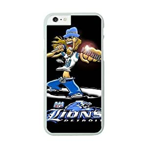 NFL Case Cover For Ipod Touch 5 White Cell Phone Case Detroit Lions QNXTWKHE0990 NFL Plastic Phone