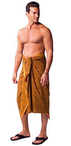 1mundo pareos tradicional para hombre/mujer Bañador de Indonesia Male