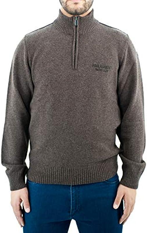 Paul & Shark Zipped Turtle Neck Sweater: Odzież