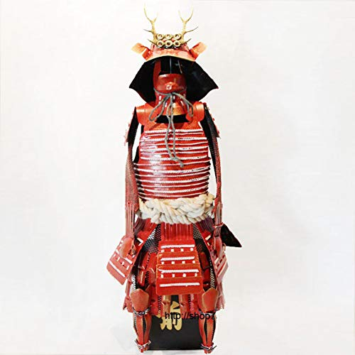 - ZSPXIN Japanese Warring States Period Samurai Armor Model,Not Wearable Figurines Statues Sculptures-A