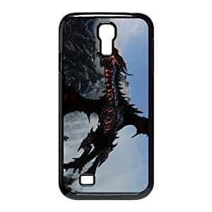Samsung Galaxy S4 9500 Black phone case World of Warcraft Deathwing WOW0725665