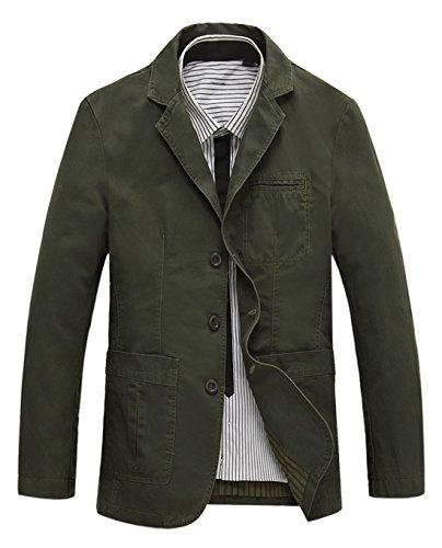 Cotton Twill Coat Jacket - 9
