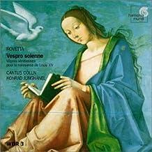 Rovetta: Vespro solenne /Cantus C??lln ??? Jungh???nel by Giovanni Rovetta (2001-04-02)