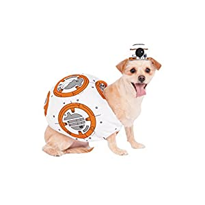 Rubie's Star Wars VII: The Force Awakens BB-8 Pet Costume, Small