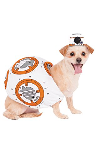 Friends Halloween Costume Episode (Rubies Costume 580417_M Star Wars VII: The Force Awakens BB-8 Pet Costume, Medium)
