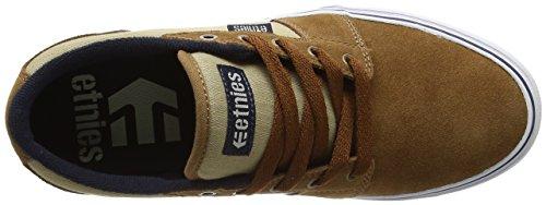 EtniesBarge Ls - Zapatillas de Skateboard hombre Gris(Grey/Black/White039)