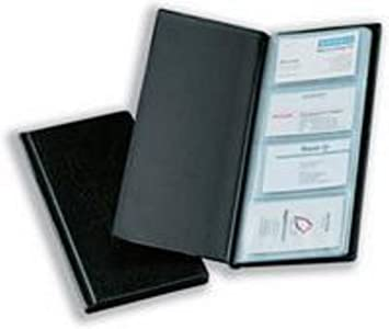 Bantex Business Card Album Black Amazon Office Products