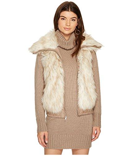 コーンペースト湿原[ビービーダコタ] BB Dakota レディース Hettie Faux Fur Vest ジャケット [並行輸入品]