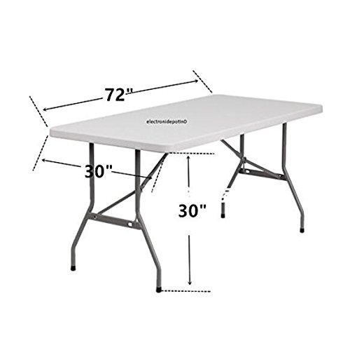 Haorui Rectangular Spandex Table Cover (6 ft. Black) by Haorui (Image #6)