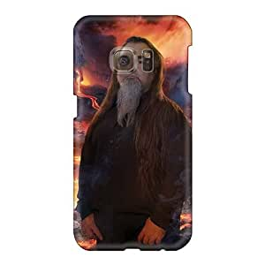 JohnPrimeauMaurice Samsung Galaxy S6 Perfect Cell-phone Hard Cover Support Personal Customs High-definition Korpiklaani Band Image [MCc16367btnS]