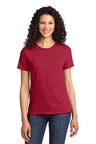 Autoridad Portuaria de puerto de la mujer & Company lpc61esencial camiseta Rojo