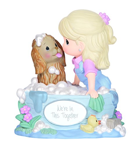[Precious Moments,  We're In This Together, Resin Music Box, 144107] (Precious Moments Bath)