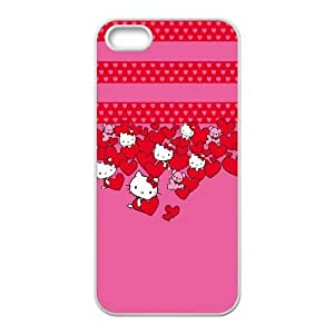 Hello Kitty Hearts iPhone 5 5s Cell Phone Case White Pretty Present zhm004_5968434