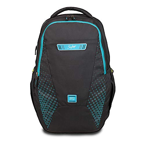 Skybags 33 Ltrs Black Laptop Backpack (BPSPA1BLK)