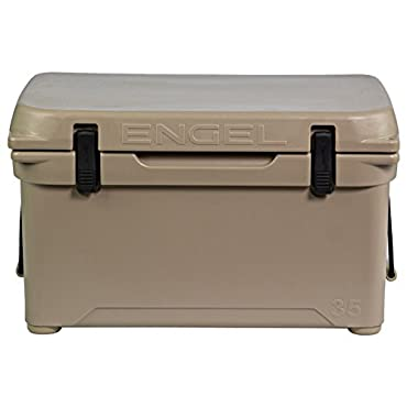 Engel 35 High-Performance Roto-Molded Cooler, Tan (ENG35-T)