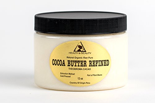 Ultra Raw Eye (Cocoa / Cacao Butter Ultra Refined Organic Natural Raw Prime Grade A Fresh 100% Pure 36 oz)