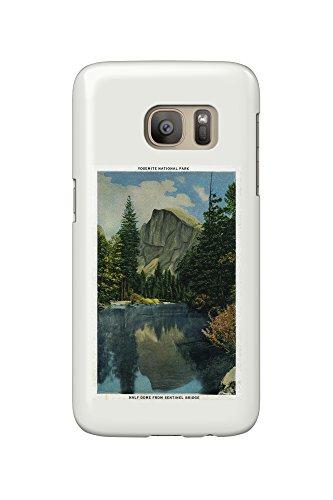 Half Dome from Sentinel Bridge (Galaxy S7 Cell Phone Case, Slim Barely - Dome Sentinel